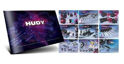 HUDY CATALOG COMPLETE - 40PAGES PREMIUM PRODUCT BOOK