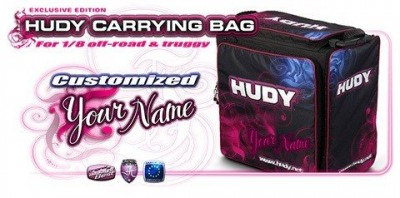 HUDY 1/8 OFF-ROAD & TRUGGY CARRYING BAG + TOOL BAG - EXCLUSIVE EDITION - CUSTOM NAME