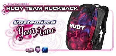 HUDY TEAM RUCKSACK - CUSTOM NAME