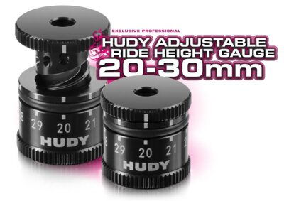 HUDY RIDE HEIGHT GAUGE 20-30MM