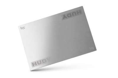 HUDY STAINLESS STEEL BATTERY WEIGHT 50G