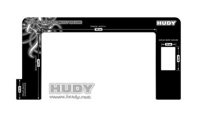 HUDY BODY GAUGE 1/10 ELECTRIC TOURING CARS