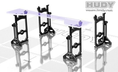 UNIVERSAL EXCLUSIVE SET-UP SYSTEM FOR 1/10 TOURING CARS