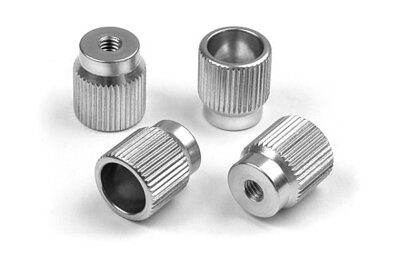 ALU NUT FOR 1/10 TOURING SET-UP SYSTEM (4)