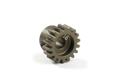 NARROW ALU PINION GEAR - HARD COATED 18T / 48