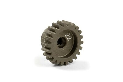 NARROW ALU PINION GEAR - HARD COATED 22T / 48
