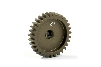 NARROW ALU PINION GEAR - HARD COATED 31T / 48