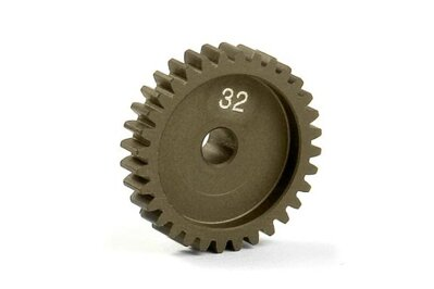 NARROW ALU PINION GEAR - HARD COATED 32T / 48