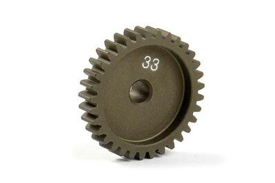 NARROW ALU PINION GEAR - HARD COATED 33T / 48