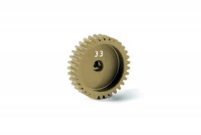 ALU PINION GEAR - HARD COATED 33T / 48