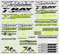 XRAY STICKER FOR BODY - NEON YELLOW