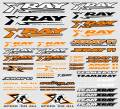 XRAY STICKER FOR BODY - NEON ORANGE
